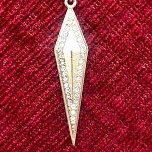 Rachel Roy Gold-Toned Rhombus Necklace